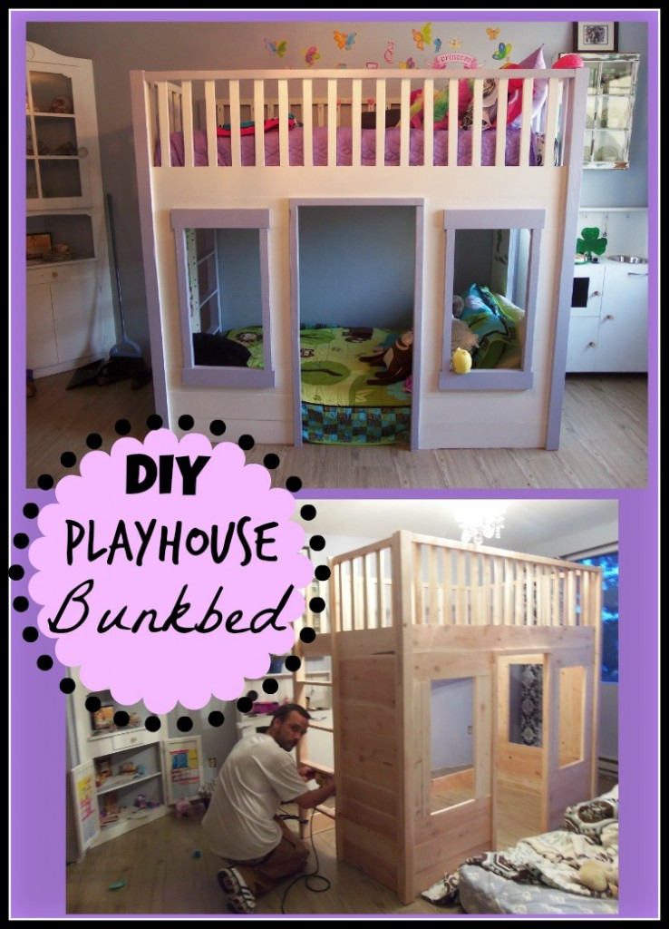 Best ideas about Kids Bed DIY . Save or Pin Kids Rooms How To Organize Your Kids Bedroom & DIY House Bed Under $200 Thrifty NW Mom Now.