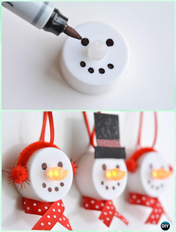 Best ideas about Kids Christmas Craft Gifts . Save or Pin 20 Easy DIY Christmas Ornament Craft Ideas For Kids to Make Now.