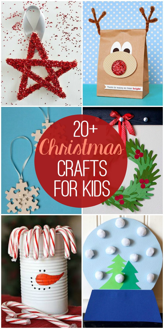 Best ideas about Kids Christmas Craft Gifts . Save or Pin Christmas Crafts for Kids Now.