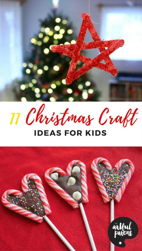 Best ideas about Kids Christmas Craft Gifts . Save or Pin 11 Christmas Craft Ideas for Kids To Make This Holiday Season Now.
