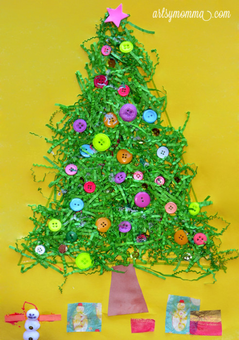 Best ideas about Kids Christmas Craft Gifts . Save or Pin 40 Christmas Crafts Ideas Easy for Kids to Make Now.