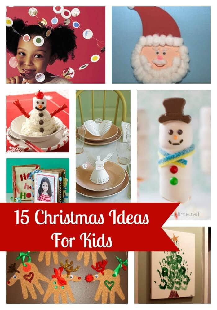 Best ideas about Kids Christmas Craft Gifts . Save or Pin Cute Preschool Age Christmas Crafts I Heart Nap Time Now.