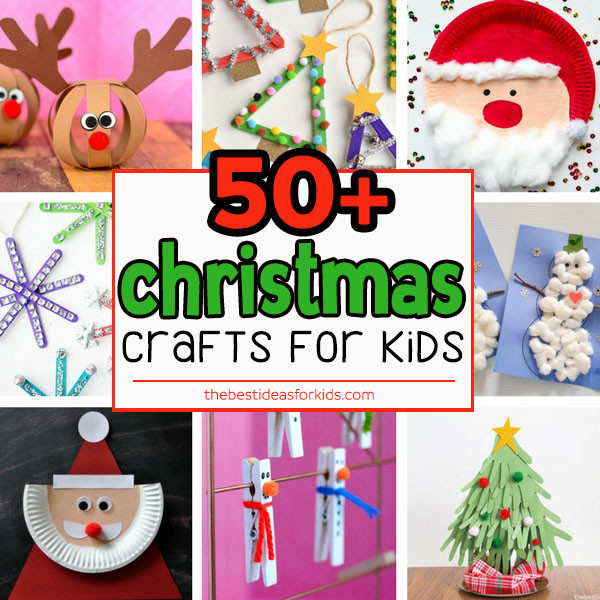 Best ideas about Kids Christmas Craft Ideas . Save or Pin 50 Christmas Crafts for Kids The Best Ideas for Kids Now.