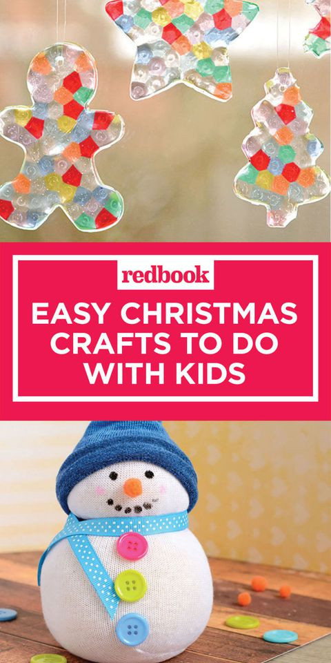Best ideas about Kids Christmas Craft Ideas . Save or Pin 10 Easy Christmas Crafts for Kids Holiday Arts and Now.