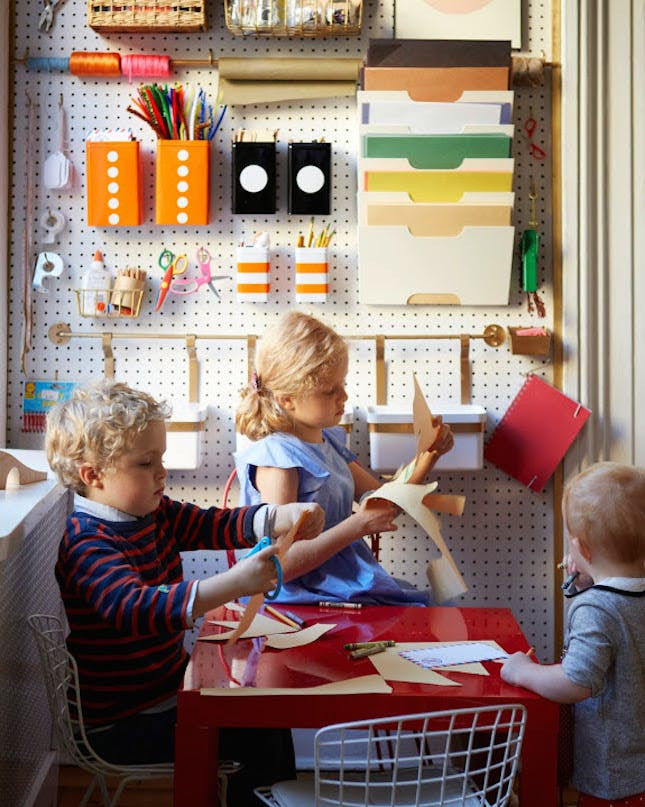 Best ideas about Kids Craft Area . Save or Pin 17 Cool Colorful Ways to Organize Your Kids' Room Now.