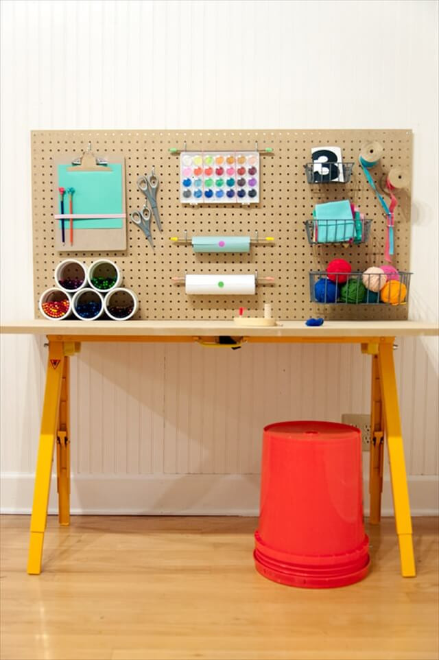 Best ideas about Kids Craft Area . Save or Pin 4 Easy Steps for Setting up Crafting Area for Kids Now.