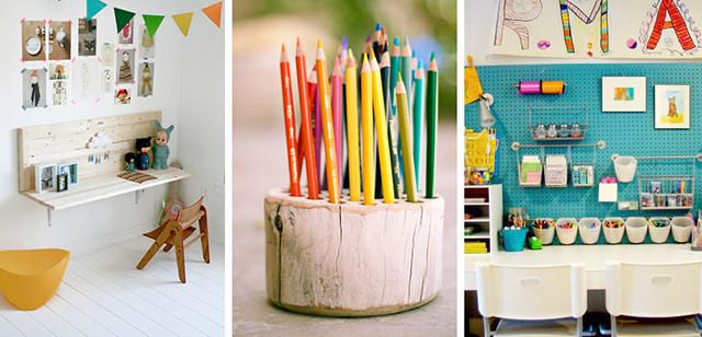 Best ideas about Kids Craft Area . Save or Pin kokokoKIDS Kids Craft Area and Art Supplies Organization Now.