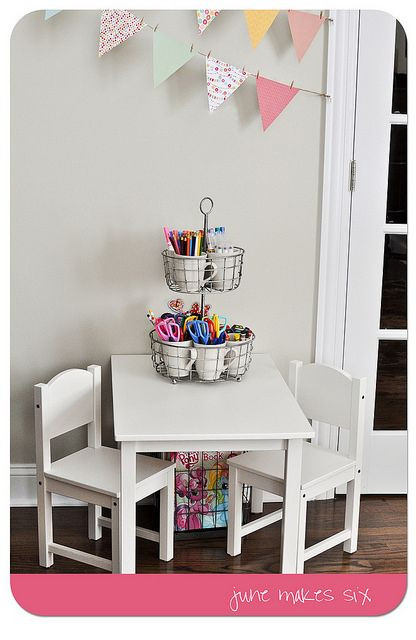 Best ideas about Kids Craft Area . Save or Pin Best 25 Kids art table ideas on Pinterest Now.
