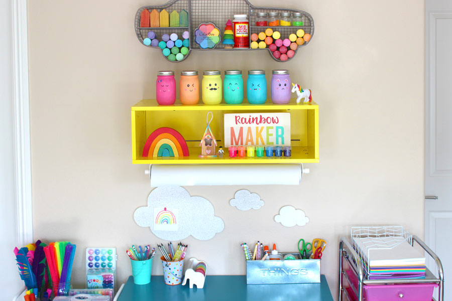 Best ideas about Kids Craft Area . Save or Pin Craft Storage For Kids Rock My Style Now.