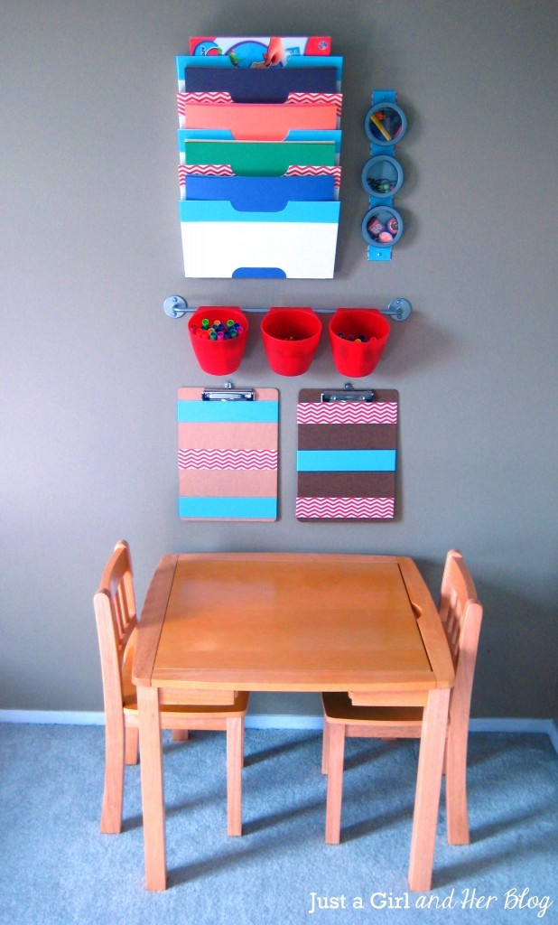Best ideas about Kids Craft Area . Save or Pin Kids Craft Corner Reveal Now.
