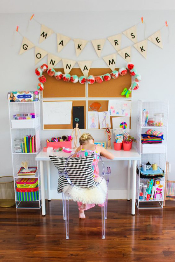 Best ideas about Kids Craft Area . Save or Pin 20 Creative Ways Build Arts And Crafts Rooms For Your Kids Now.