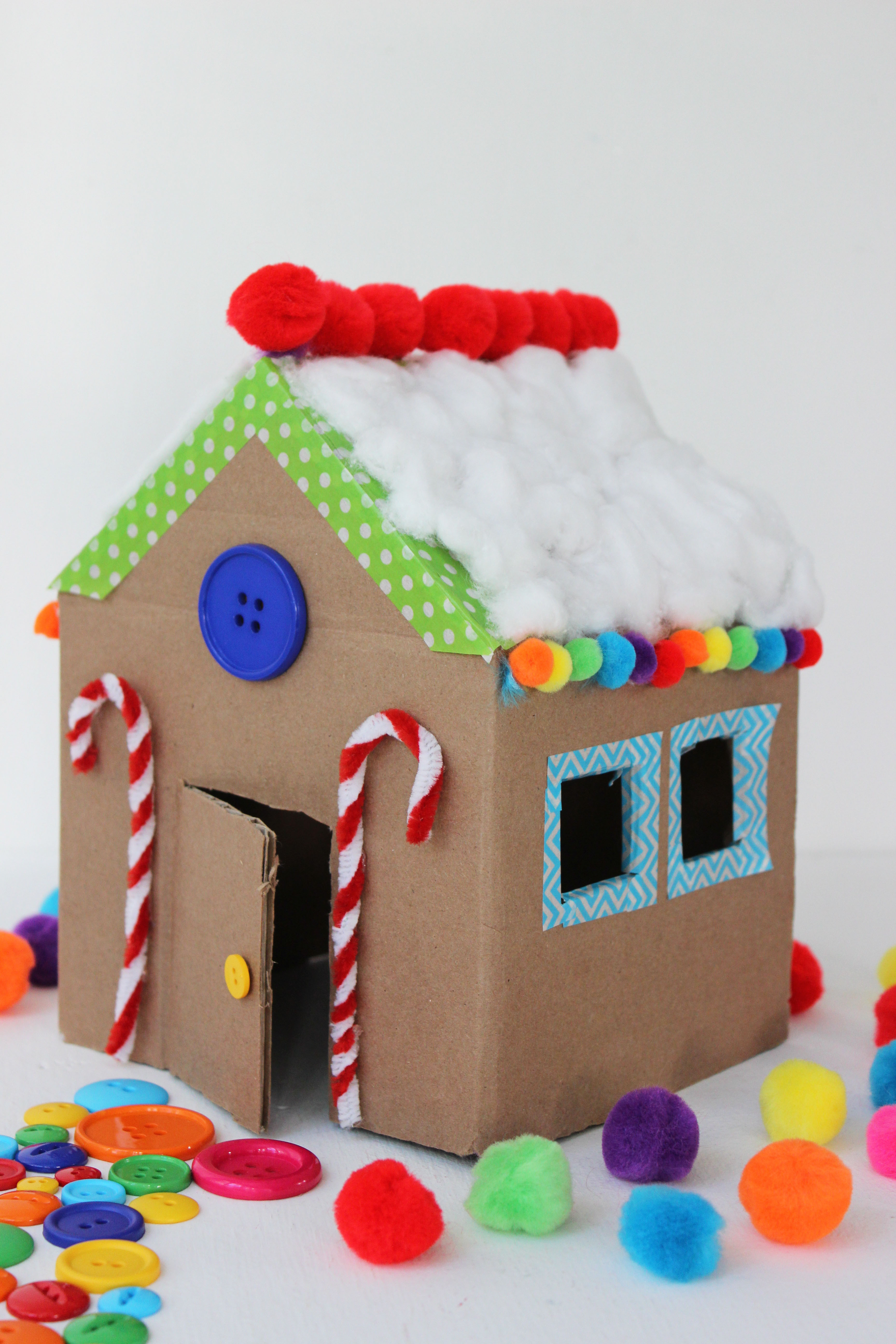 Best ideas about Kids Craft Projects . Save or Pin 10 ways to turn you cardboard boxes into kids' crafts Now.