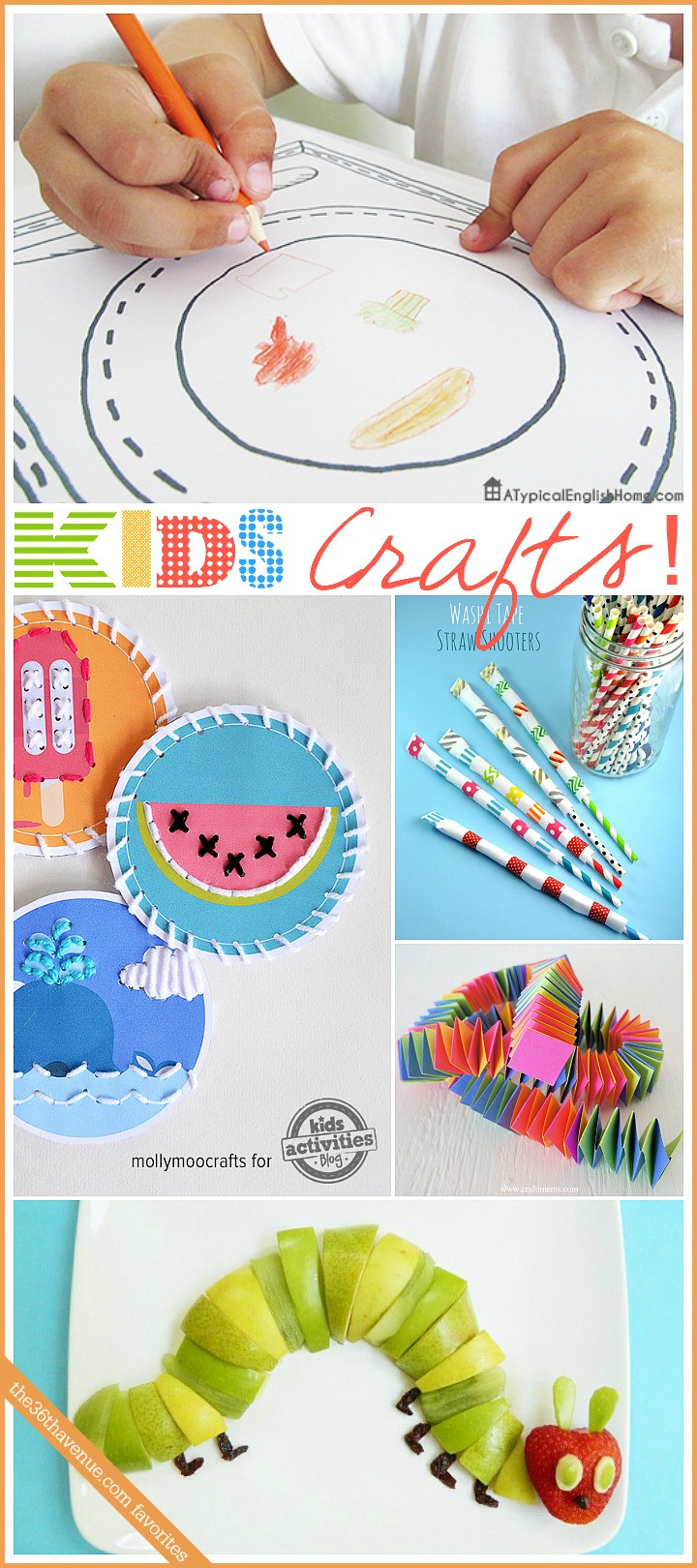 Best ideas about Kids Craft Projects . Save or Pin Kids Crafts and Activities The 36th AVENUE Now.