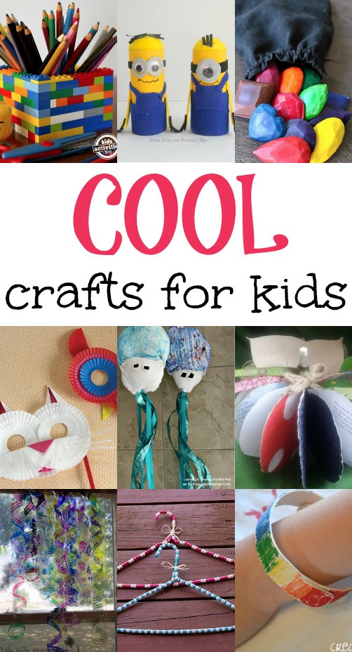 Best ideas about Kids Crafts For Girls . Save or Pin Cool Crafts for Kids Now.