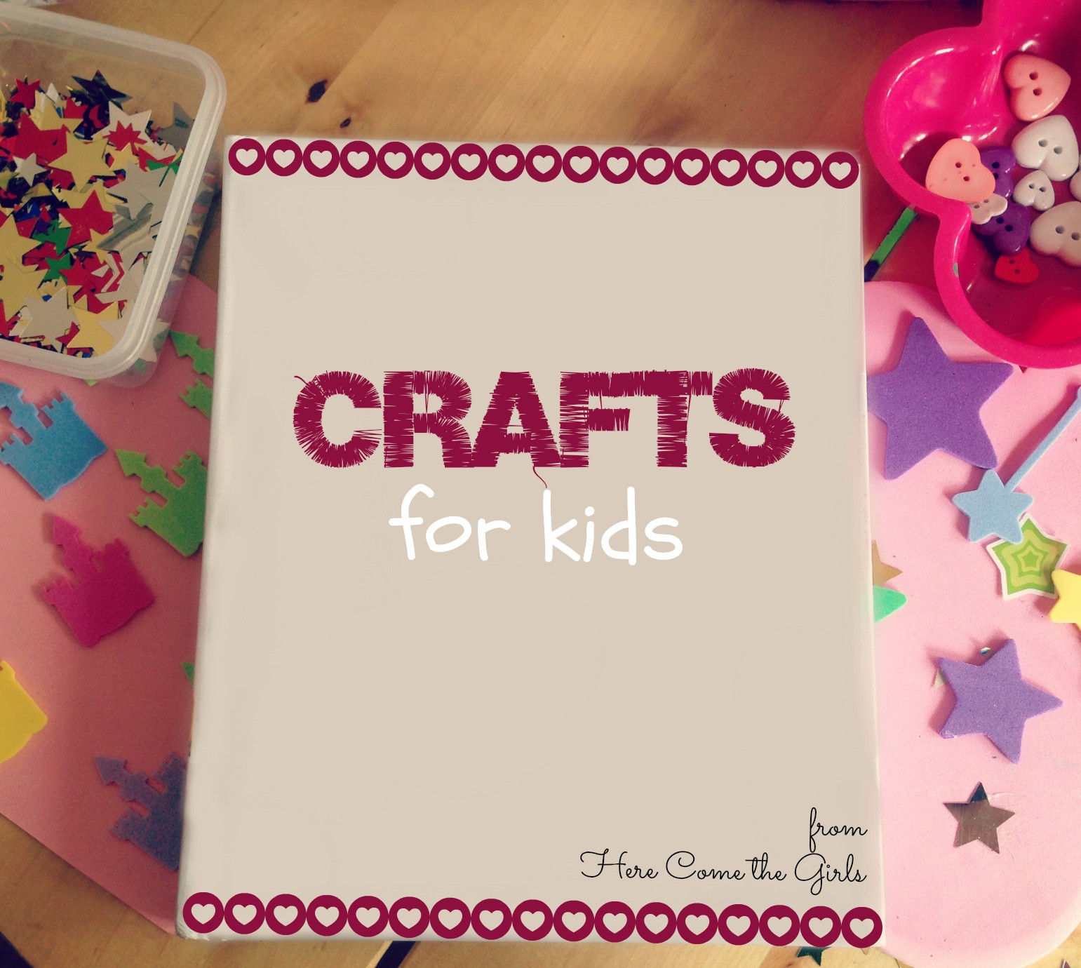 Best ideas about Kids Crafts For Girls . Save or Pin Crafts for kids Here e the Girls Now.