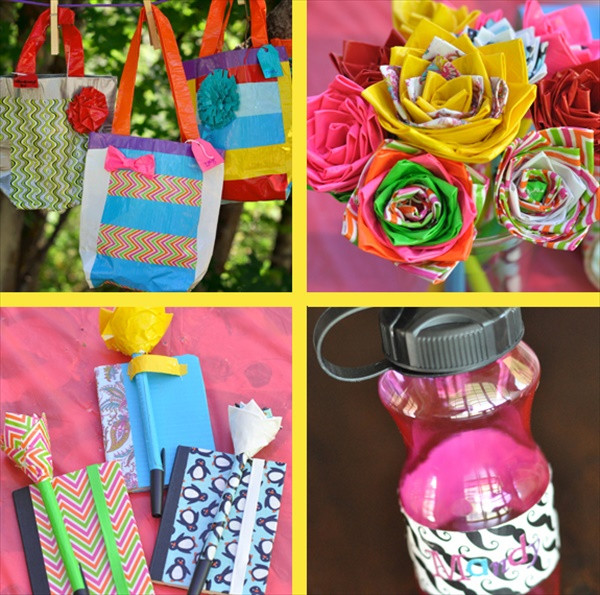 Best ideas about Kids Crafts For Girls . Save or Pin DIY Duct Tape Girls Camp Crafts Now.