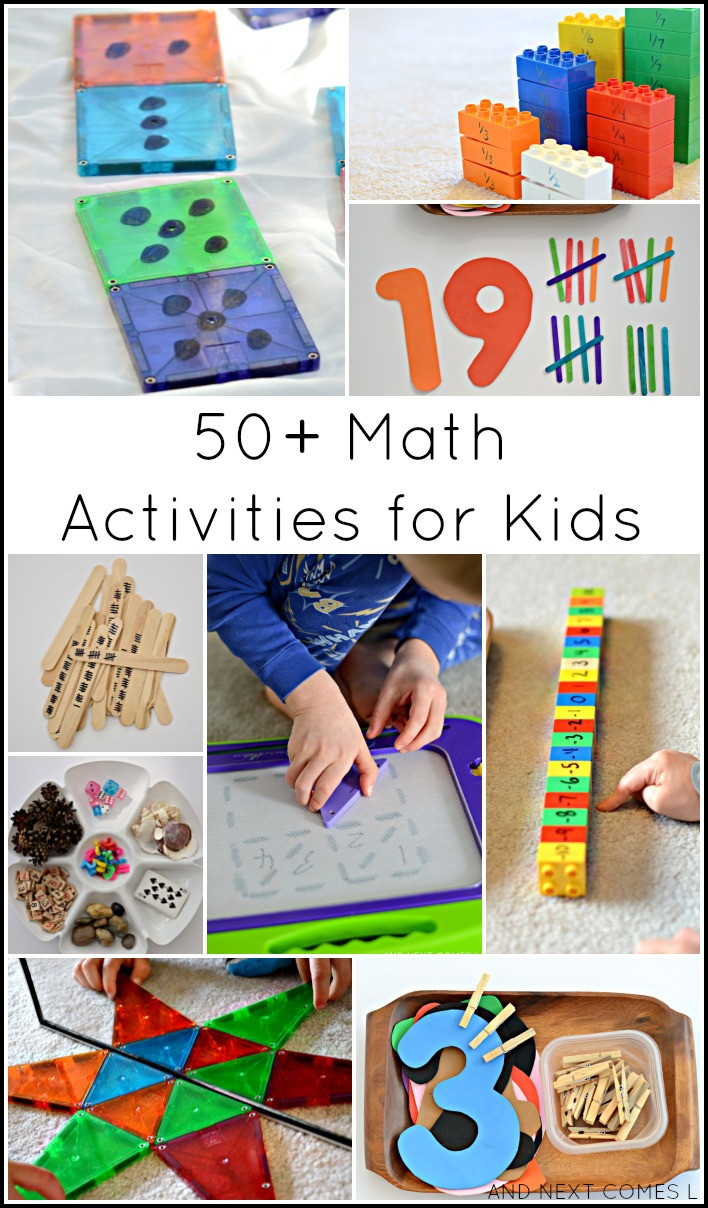 Best ideas about Kids Creative Activities At Home . Save or Pin Guest Post 50 Creative Math Activities for Kids Now.