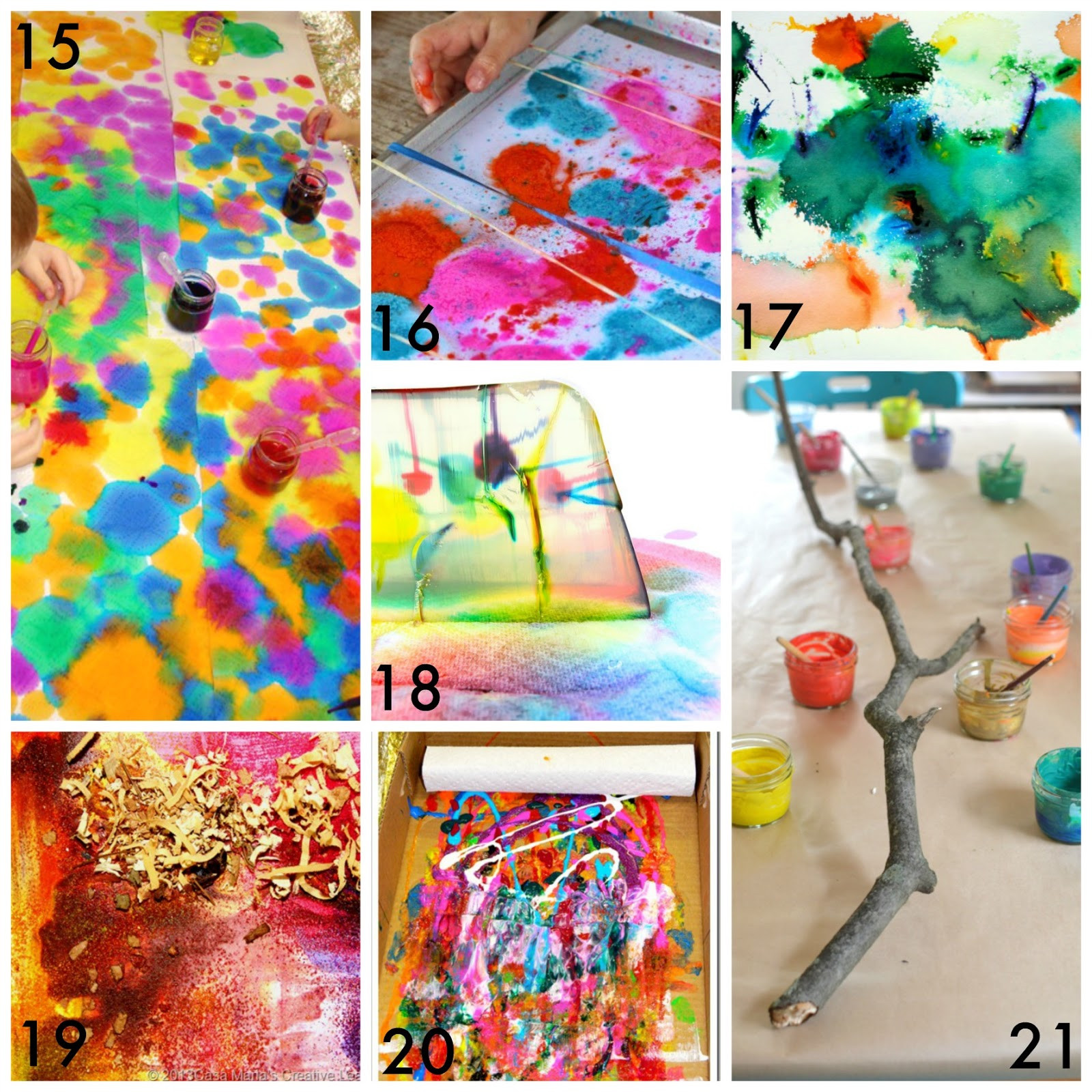 Best ideas about Kids Creative Activities At Home . Save or Pin 50 Easy Process Art Activities for Kids Now.