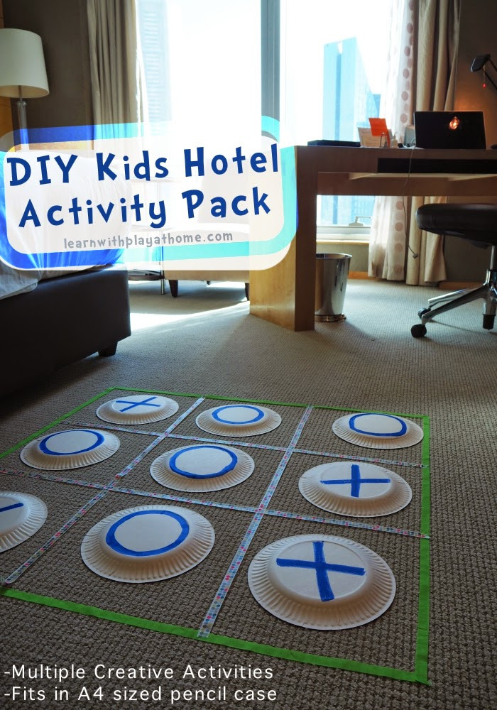 Best ideas about Kids Creative Activities At Home . Save or Pin Learn with Play at Home DIY Kids Hotel Activity Pack Now.