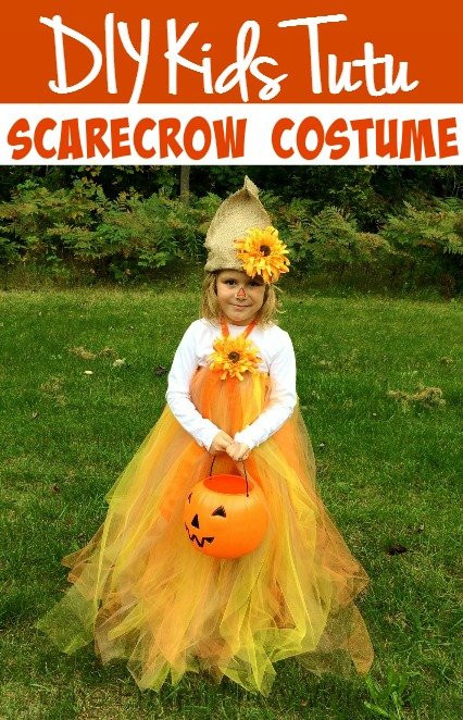 Best ideas about Kids DIY Costume . Save or Pin DIY Kids Tutu Scarecrow Costume Now.