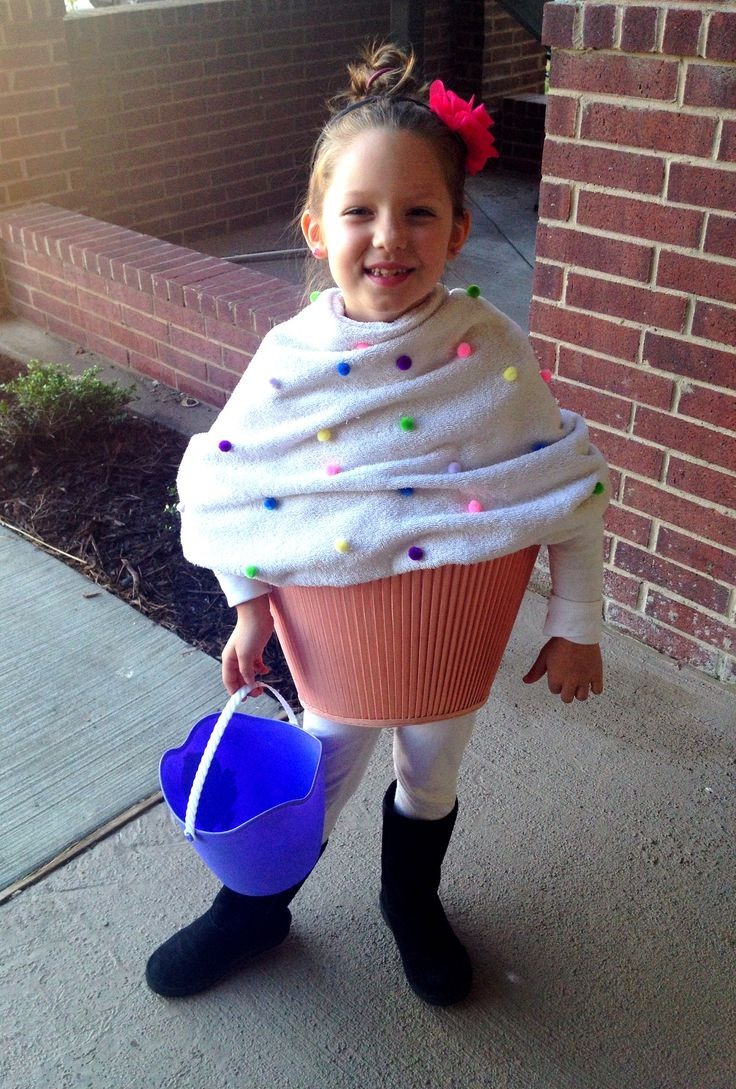 Best ideas about Kids DIY Costume . Save or Pin Little Girls DIY Cupcake Halloween Costume All u need Now.