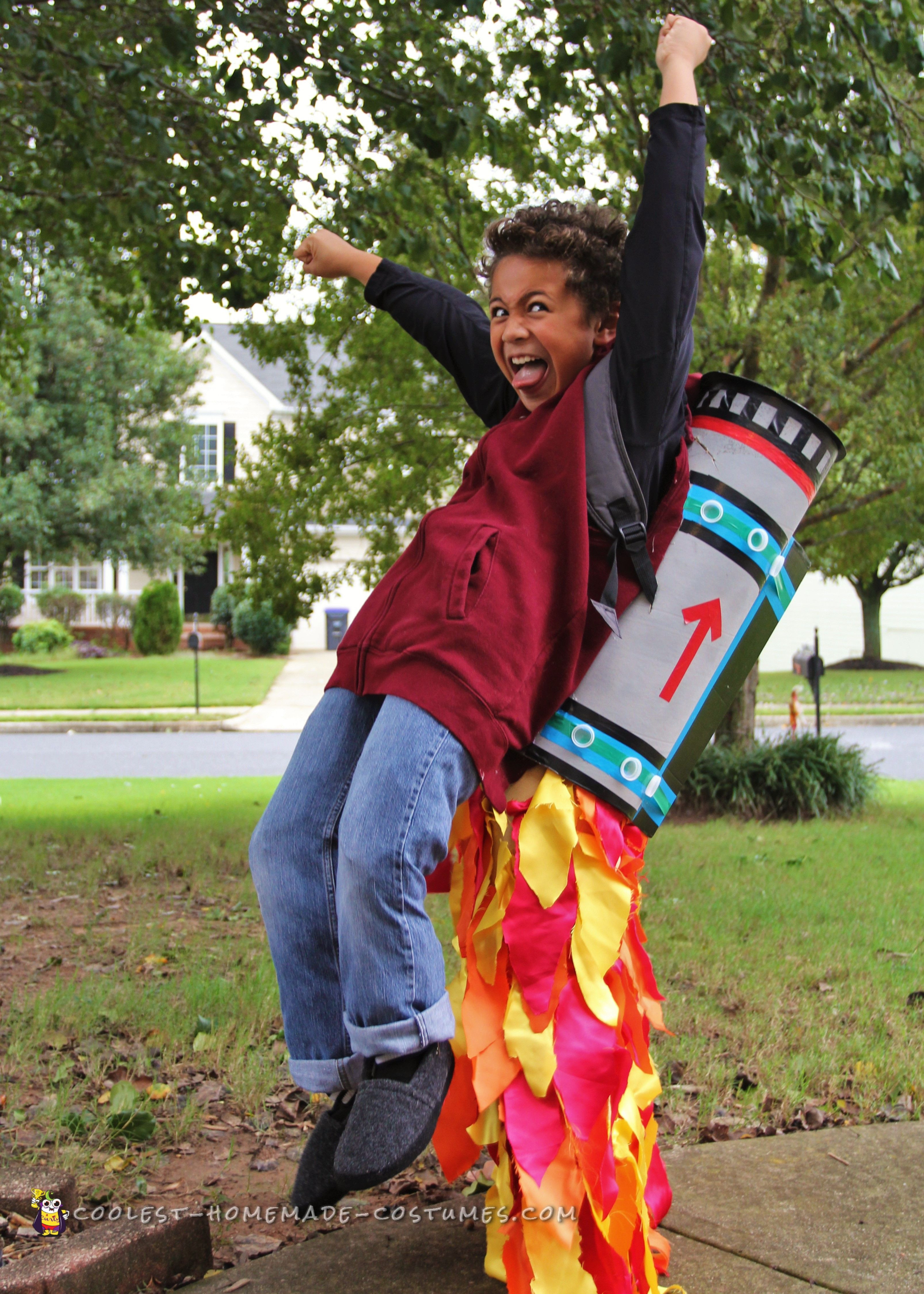 Best ideas about Kids DIY Costume . Save or Pin Cool Jet Pack Illusion Costume Now.