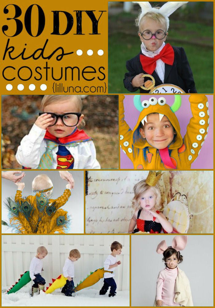 Best ideas about Kids DIY Costume . Save or Pin DIY Halloween Costumes Now.