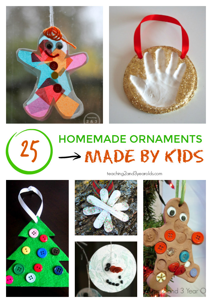 Best ideas about Kids DIY Ornaments . Save or Pin 25 Homemade Christmas Ornaments for Kids Now.