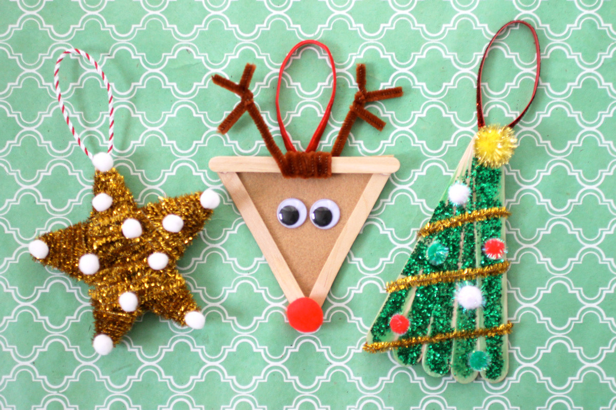 Best ideas about Kids DIY Ornaments . Save or Pin Christmas DIY Kids Ornaments Evite Now.
