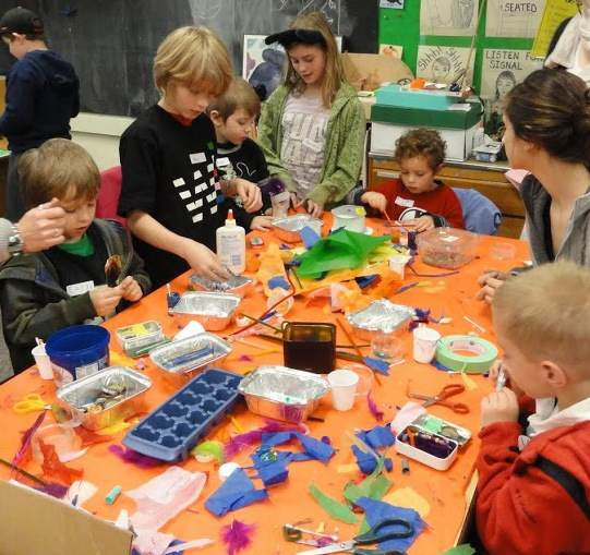 Best ideas about Kids Doing Arts And Crafts . Save or Pin Buckman Arts Show & Sell 2013 NW Kids Magazine Now.
