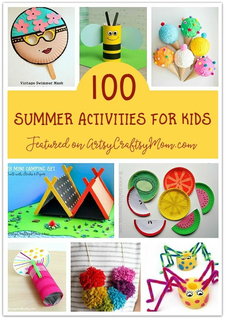 Best ideas about Kids Doing Arts And Crafts . Save or Pin The Ultimate List of 100 Summer Activities for Kids Now.