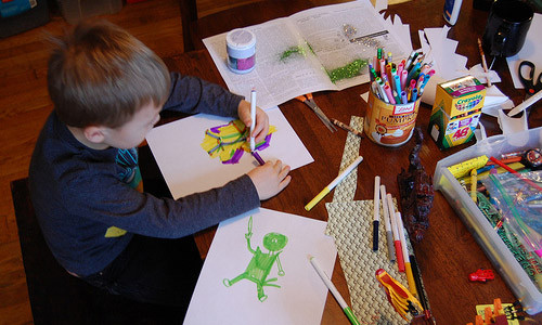 Best ideas about Kids Doing Arts And Crafts . Save or Pin Easy Arts And Crafts Ideas for Kids to Keep Them Busy Now.