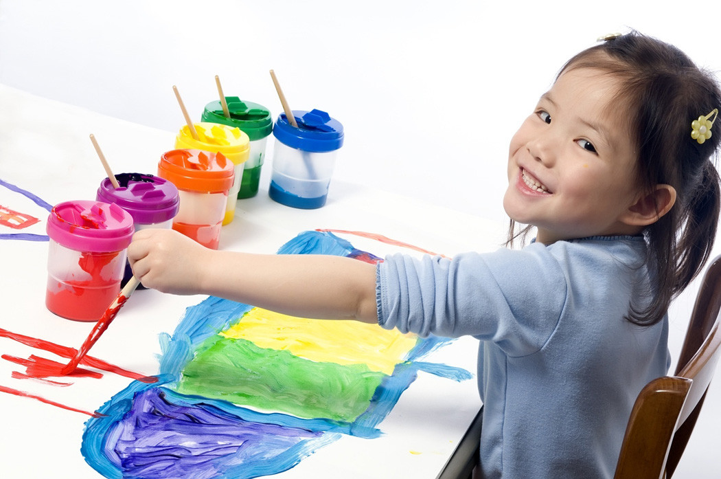 Best ideas about Kids Doing Crafts . Save or Pin child painting Center for Child Counseling Now.