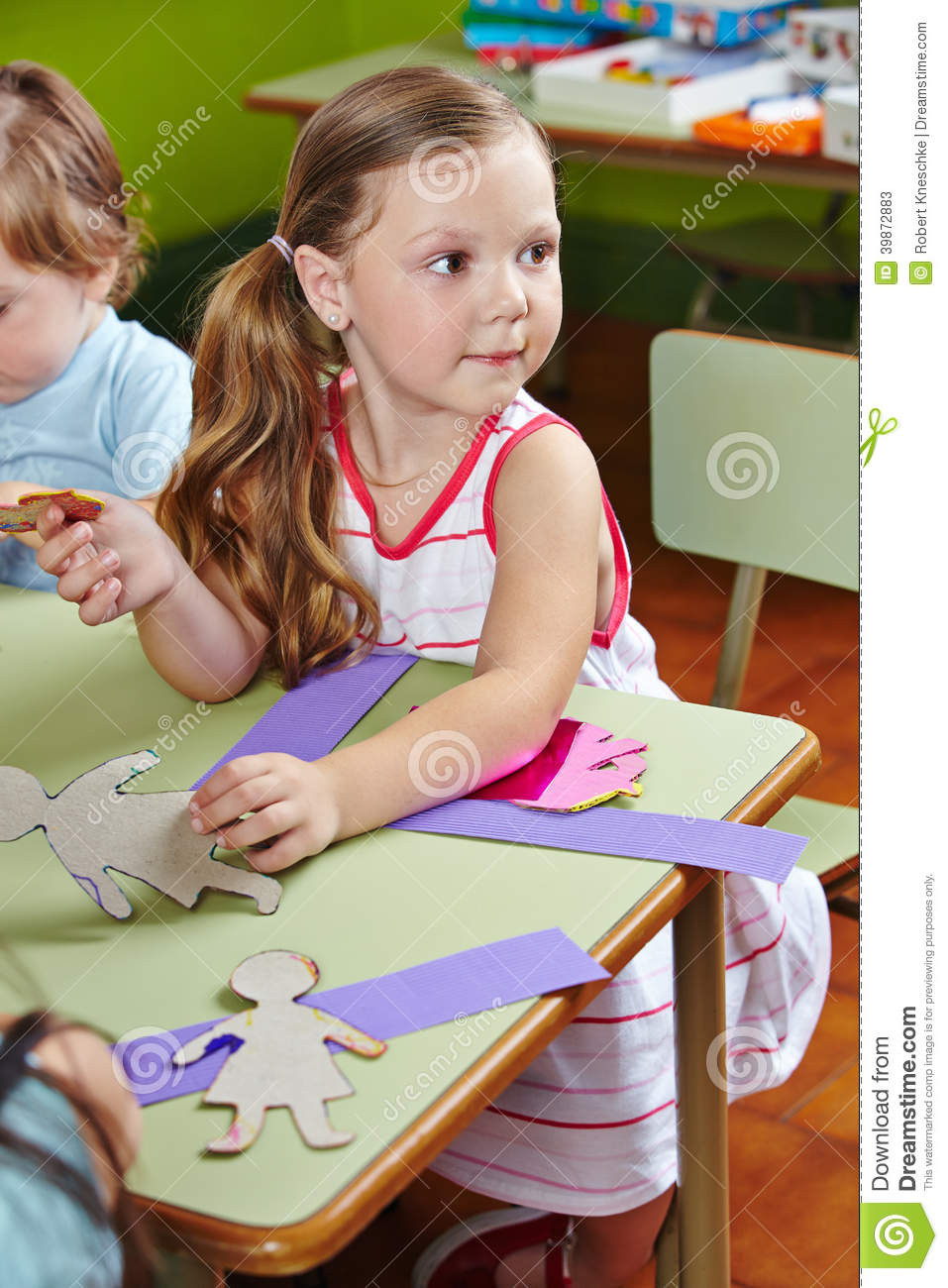 Best ideas about Kids Doing Crafts . Save or Pin Children Doing Arts & Crafts Stock Image Now.