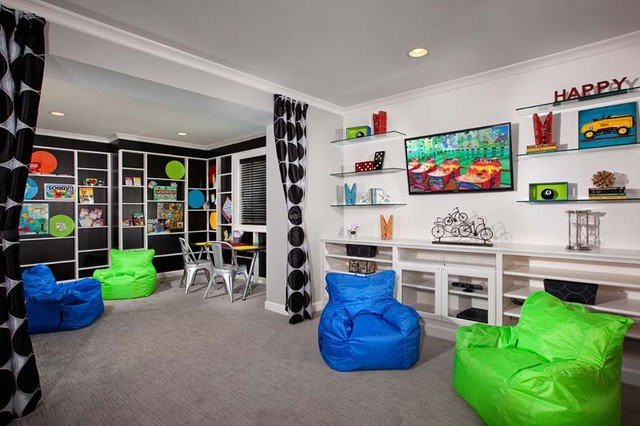 Best ideas about Kids Game Room Ideas . Save or Pin kids game room Now.