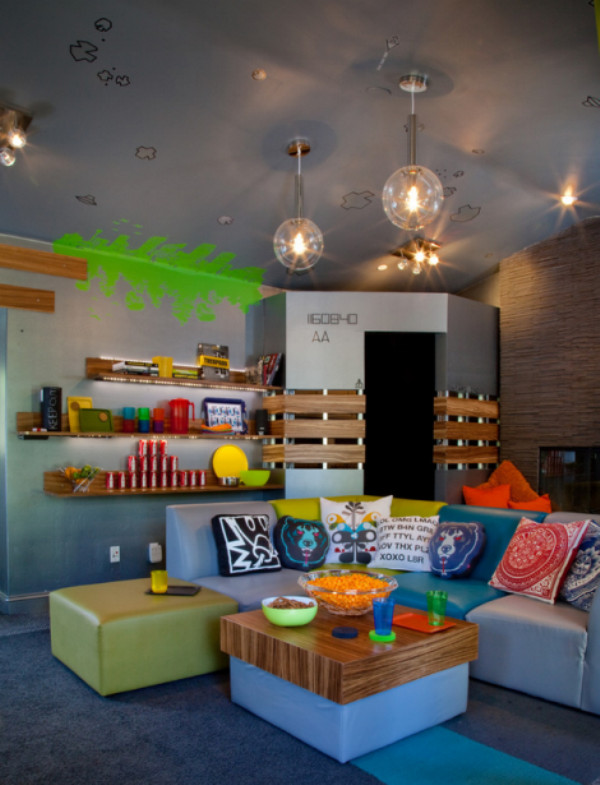 Best ideas about Kids Game Room Ideas . Save or Pin 7 Cool Video Games Themed Room For Kids Now.