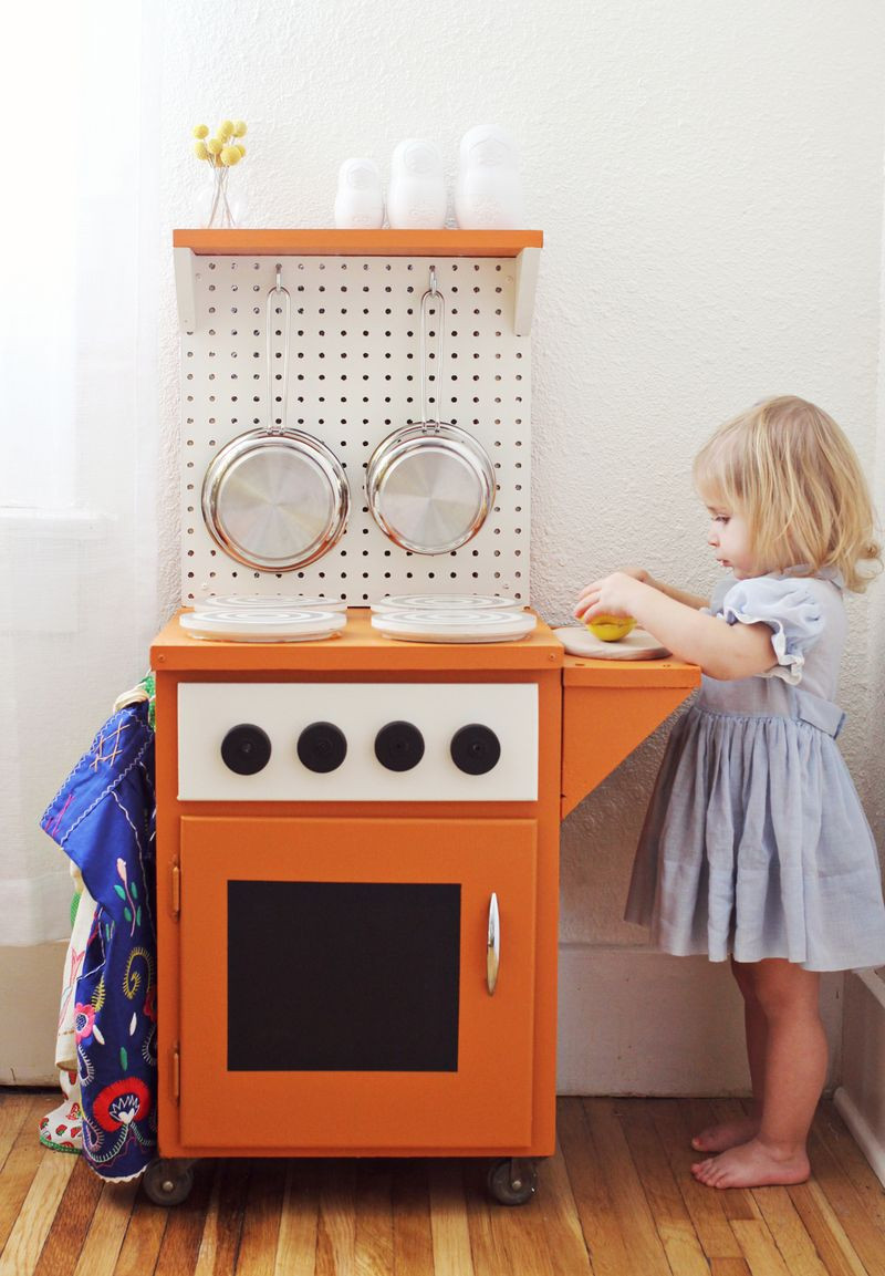 Best ideas about Kids Kitchen DIY . Save or Pin DIY Kitchenette – A Beautiful Mess Now.