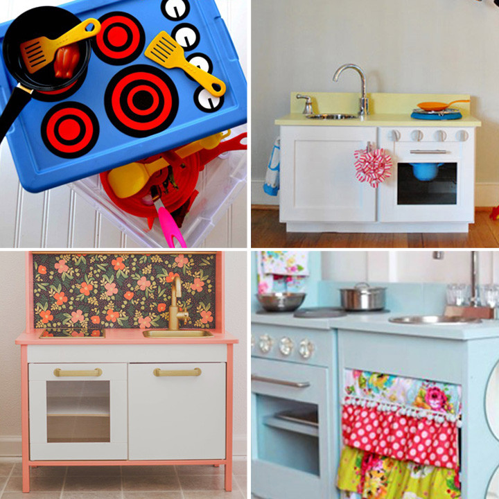 Best ideas about Kids Kitchen DIY . Save or Pin 20 coolest DIY play kitchen tutorials It s Always Autumn Now.