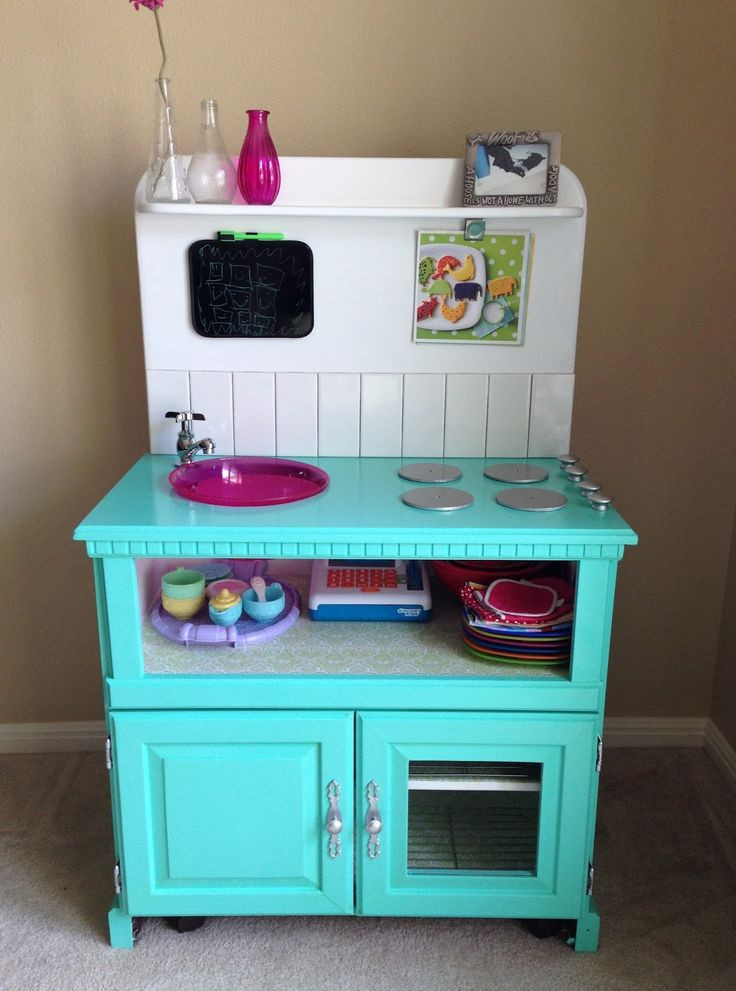 Best ideas about Kids Kitchen DIY . Save or Pin 1000 ideas about Kids Play Kitchen on Pinterest Now.