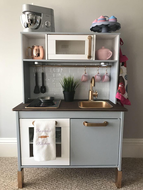 Best ideas about Kids Kitchen DIY . Save or Pin DIY Hack IKEA Duktig Kitchen Set Now.