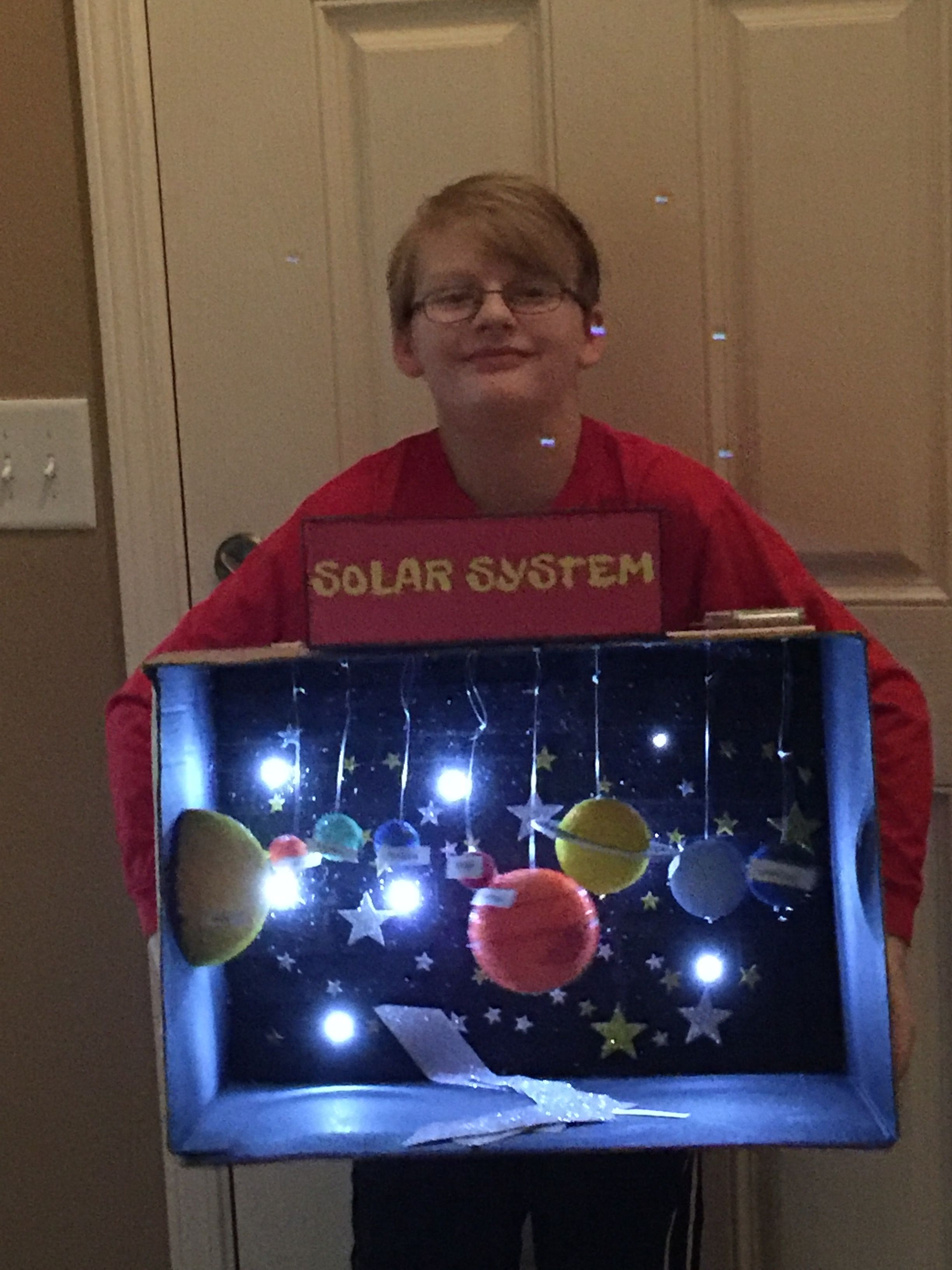 Best ideas about Kids Project Ideas . Save or Pin Ezra s 3rd grade solar system project Now.