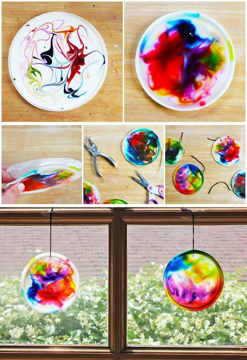 Best ideas about Kids Project Ideas . Save or Pin Best 25 Kids suncatcher craft ideas on Pinterest Now.