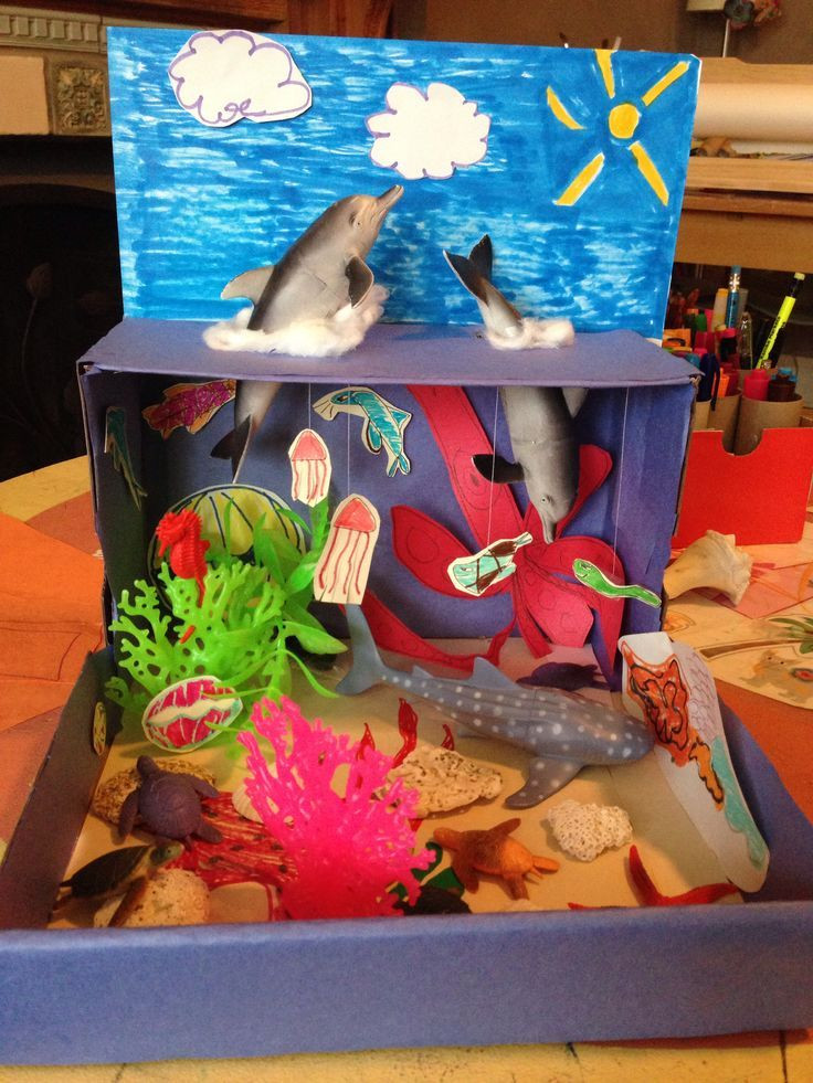 Best ideas about Kids Project Ideas . Save or Pin saltwater ecosystem science project Google Search Now.