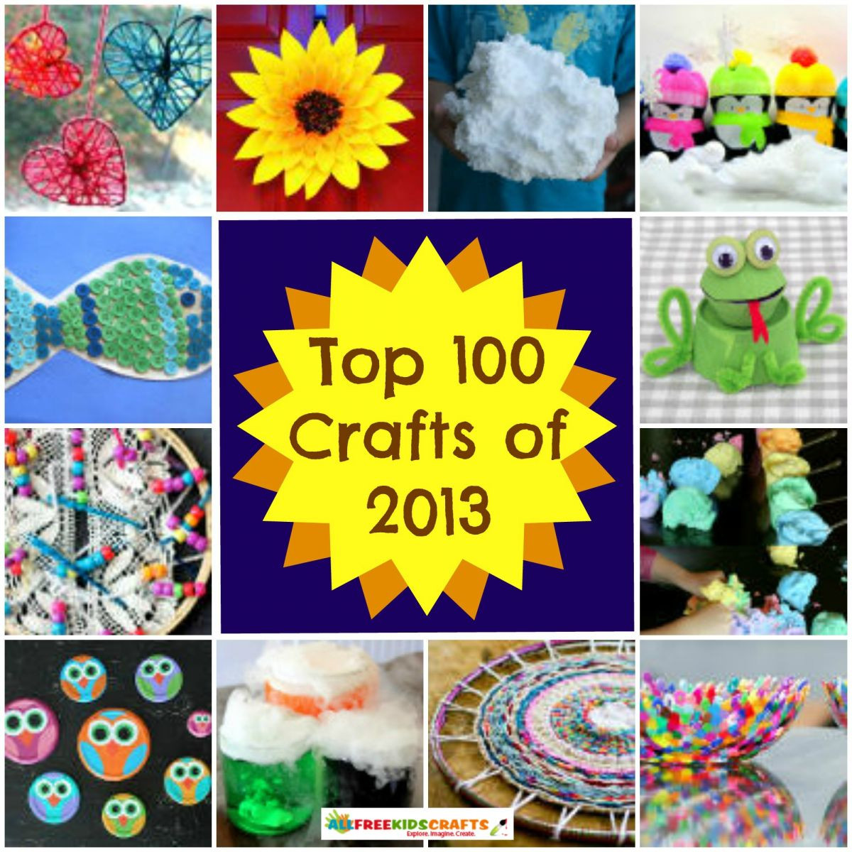 Best ideas about Kids Project Ideas . Save or Pin 100 Craft Ideas for Kids Art Project Ideas Recycled Now.