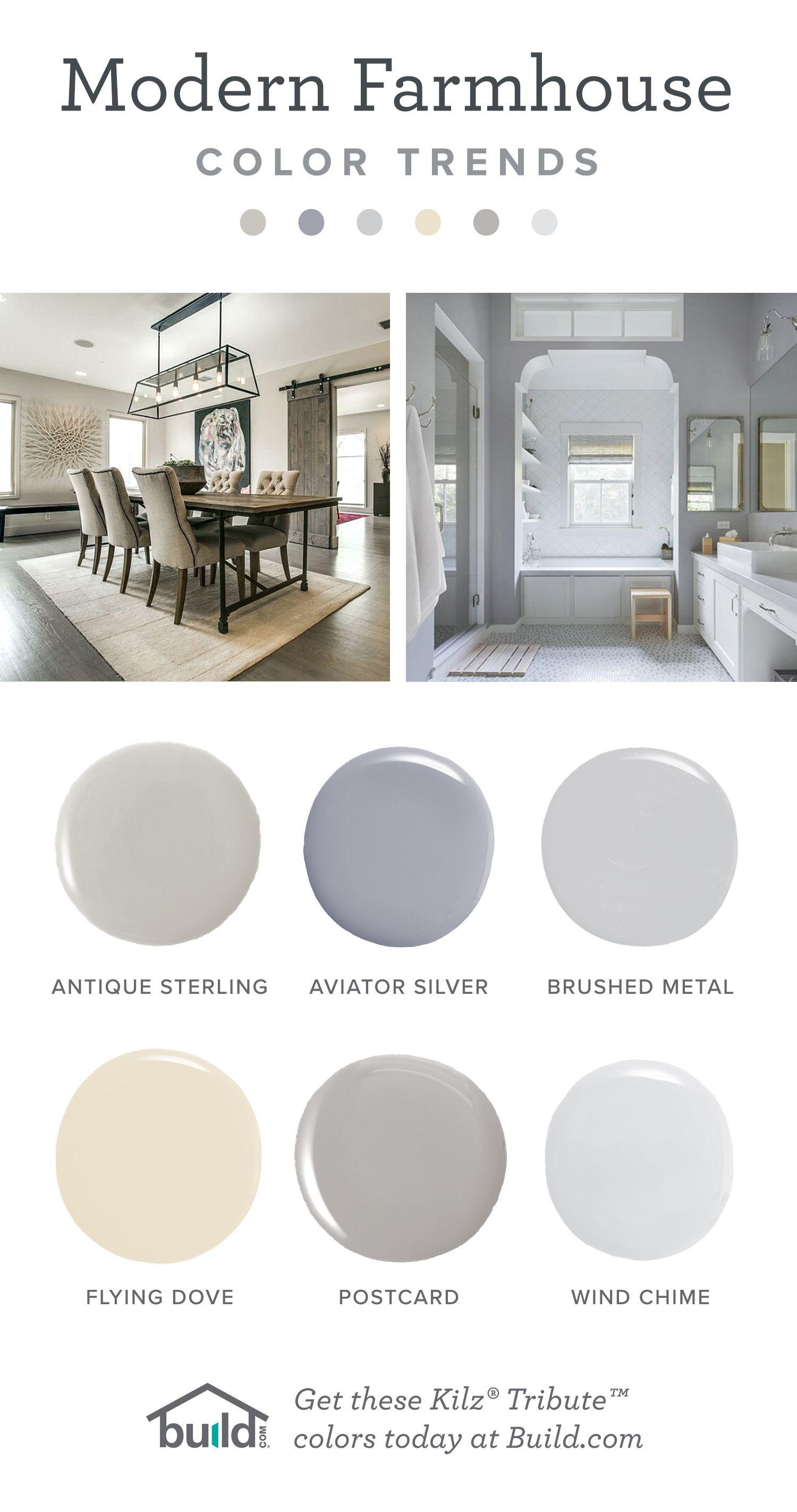 Best ideas about Kilz Paint Colors . Save or Pin Modern Farmhouse Paint Colors by Kilz Now.