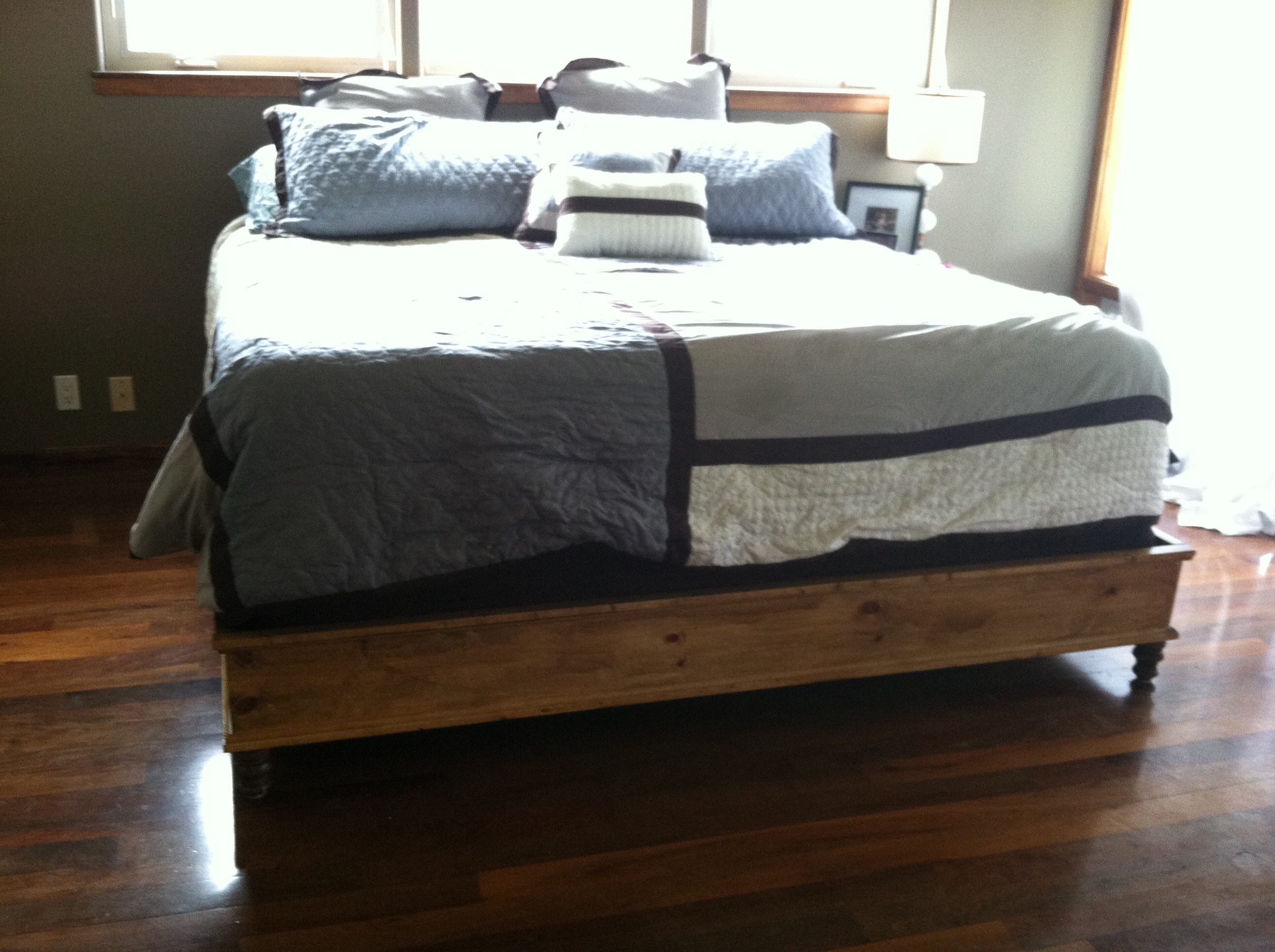 Best ideas about King Size Bed Frame DIY . Save or Pin Ana White Now.