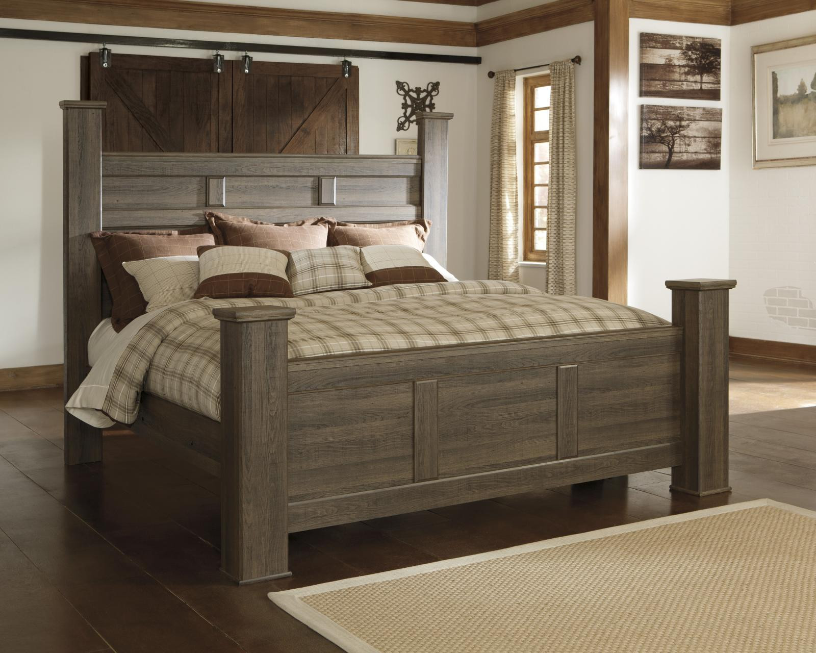 Best ideas about King Size Bedroom Sets . Save or Pin Ashley Juararo B251 King Size Poster Bedroom Set 2 Night Now.