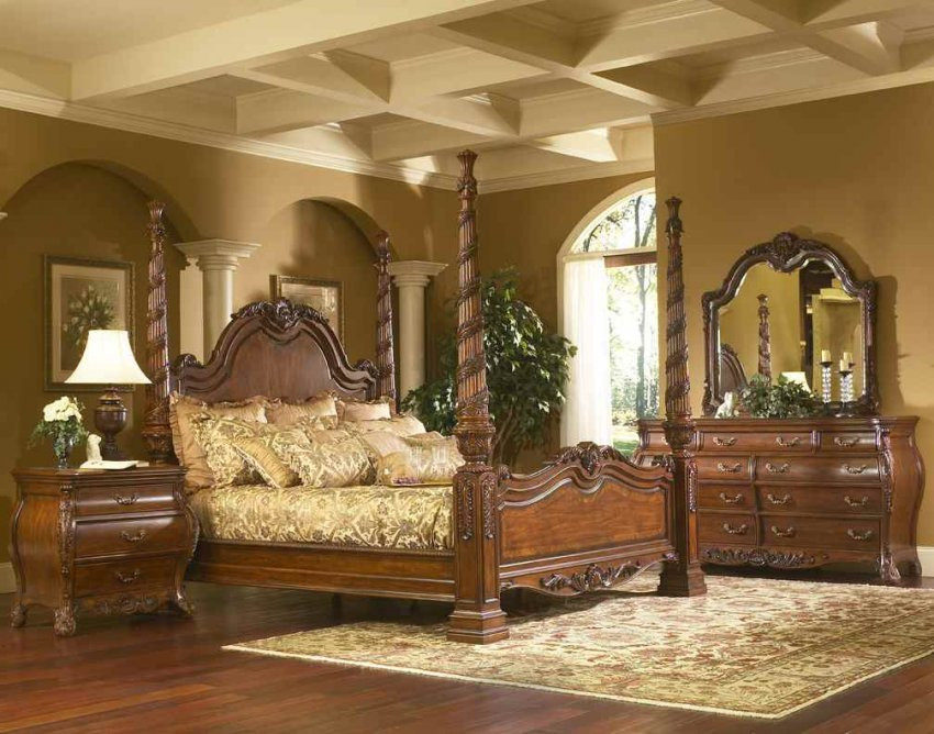 Best ideas about King Size Bedroom Sets . Save or Pin North Shore Sleigh Bedroom Set King Size Canopy Bed Frame Now.