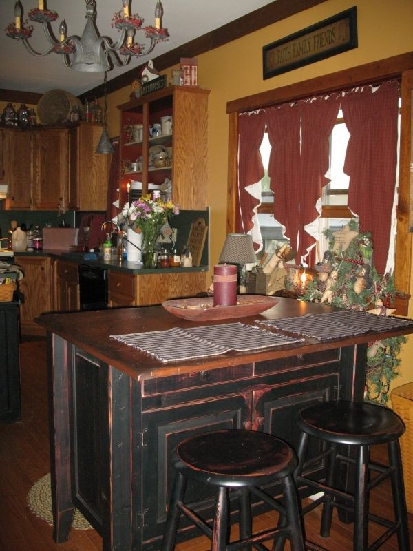 Best ideas about Kitchen & Dining . Save or Pin Primitive Kitchen Kitchens Amp Amp Dining Rooms Pinterest Now.