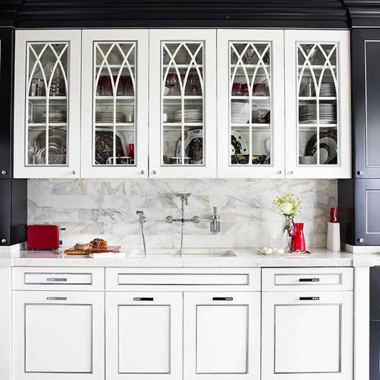 Best ideas about Kitchen Cabinets Doors . Save or Pin Distinctive Kitchen Cabinets with Glass Front Doors Now.